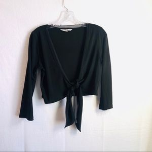 Cabi front tied blouse